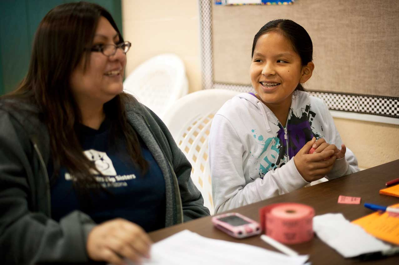 67% of girls say they are doing better in school since being in the Study Buddy program.