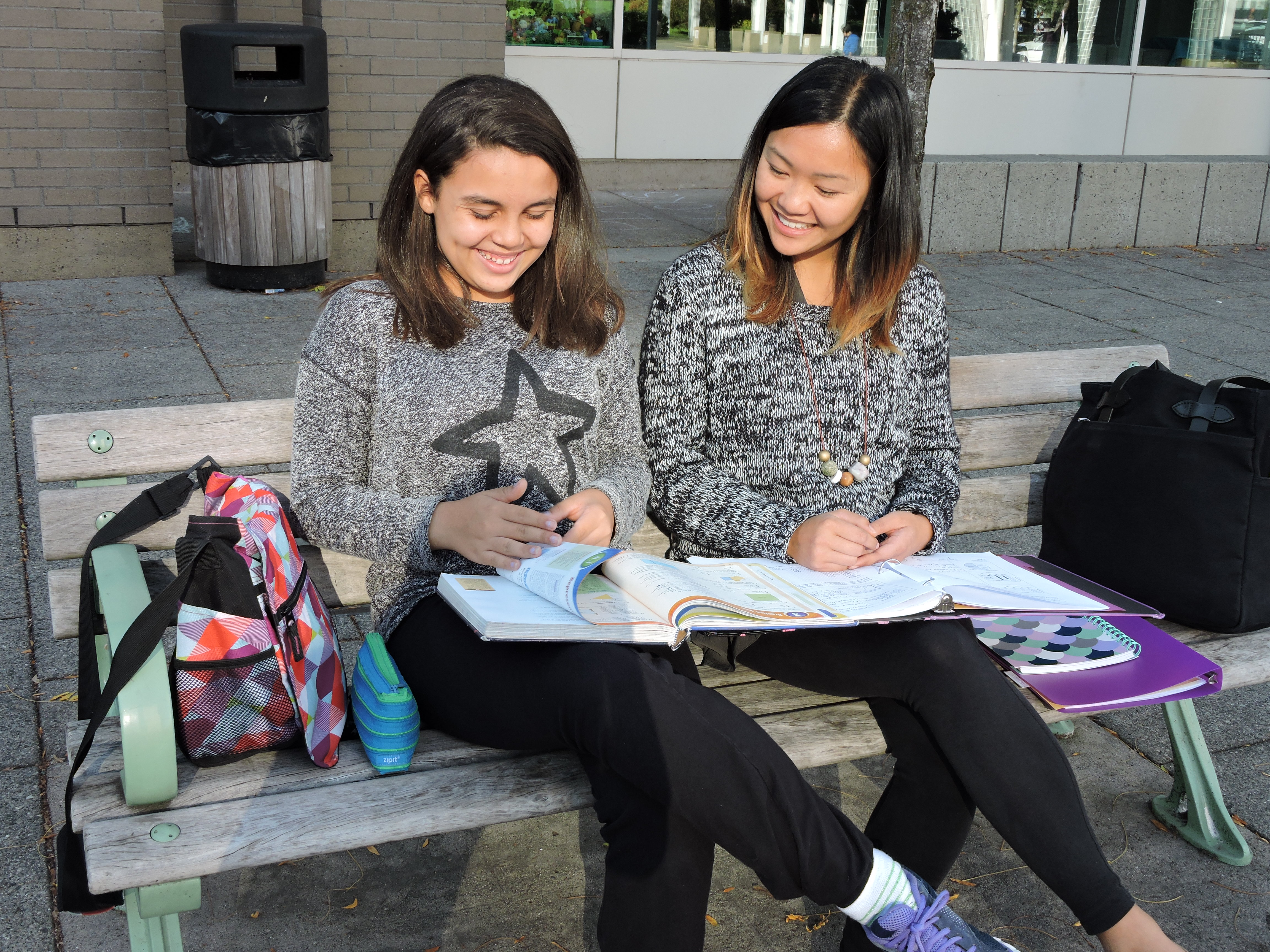 """The best thing about being a Study Buddy is seeing my Little Sister smile when she achieves success."""