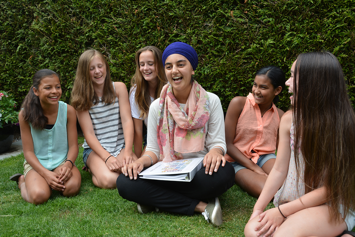 """The girls made new friends, are more comfortable speaking their minds and seem to be smiling brighter."" –  Go Girls! Mentor Laura"
