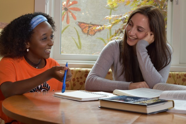 """""""Mentoring is important because everybody needs someone to look up to.""""– Little Study Buddy Haleluya"""